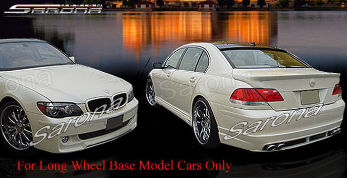 Custom BMW 7 Series Body Kit  Sedan (2005 - 2008) - $1890.00 (Manufacturer Sarona, Part #BM-041-KT)